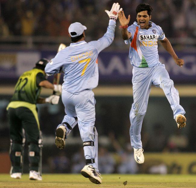 India beating Pakistan