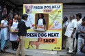 PETA's 'dog-meat shop'