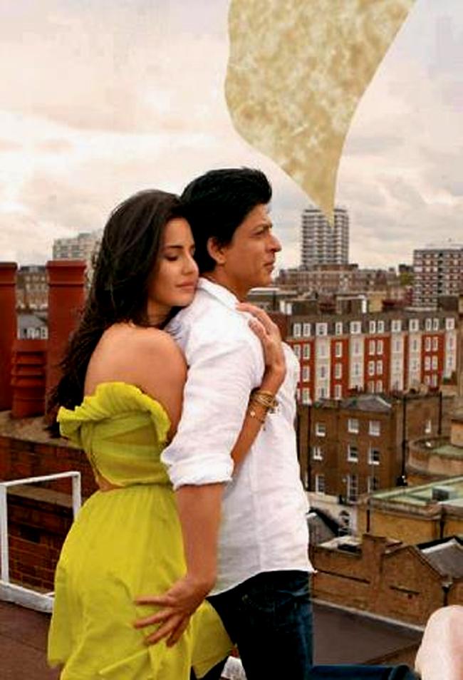 Katrina and SRK Image Courtesy: Zoom