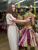 Kate and Will in Tuvalu