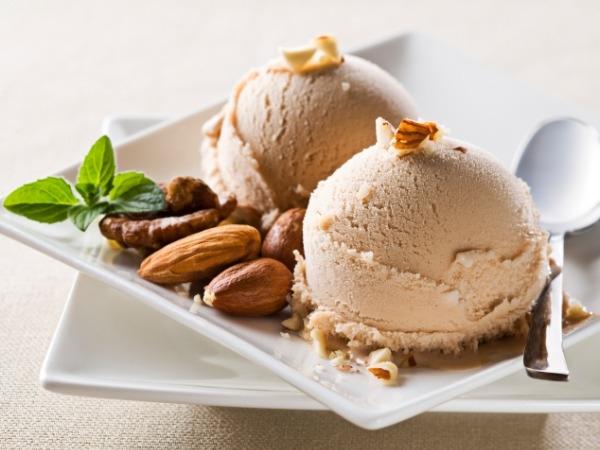 Dessert: Vegan ice cream