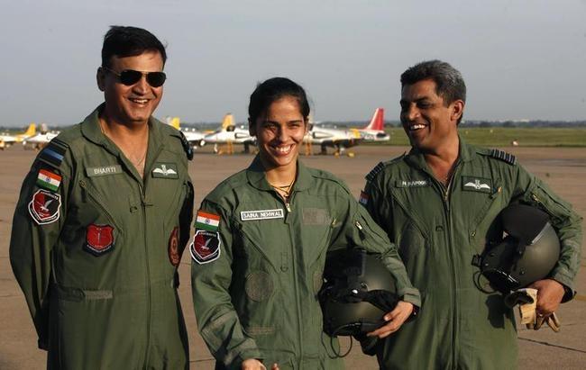 Saina Flies Sky High