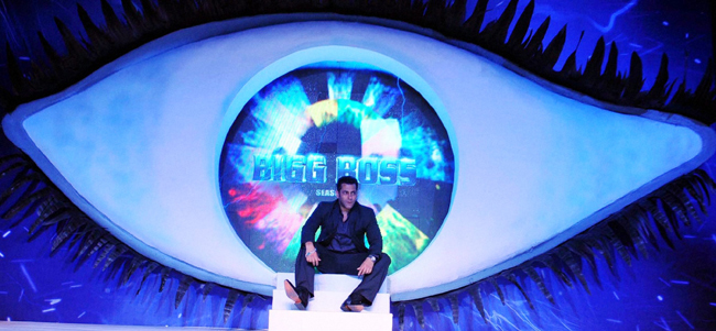 Salman Khan at an event to launch the television show Bigg Boss 6, in Mumbai, on 16th September.