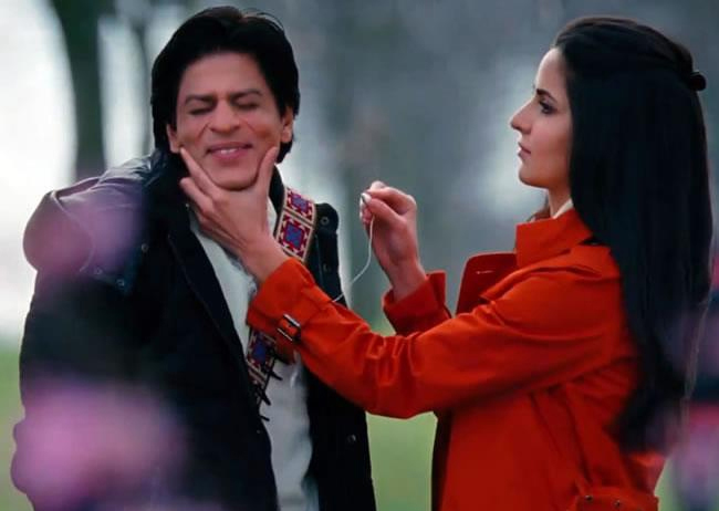 Katrina Kaif and Shah Rukh Khan