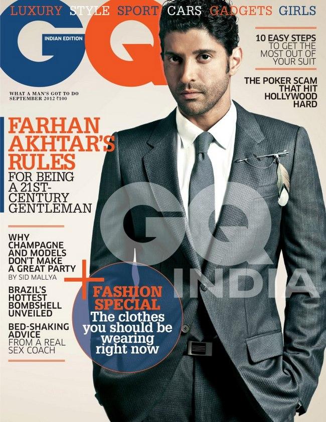 Farhan Akhtar, GQ