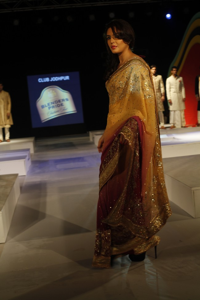 Huma Qureshi was the showstopper on day-one of the Chandigarh edition of the Blenders Pride Fashion Tour