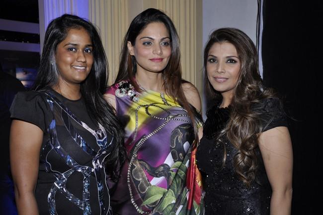 Arpita Khan, Alvira Khan Agnihotri and Falguni Peacock