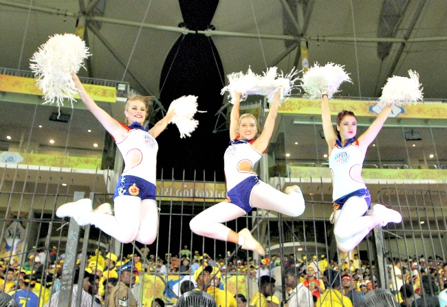 The Jumping Divas in IPL