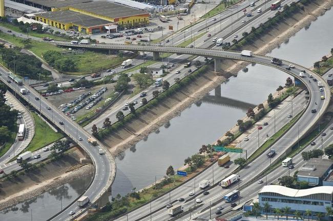 Aerial Views of Sao Paulo