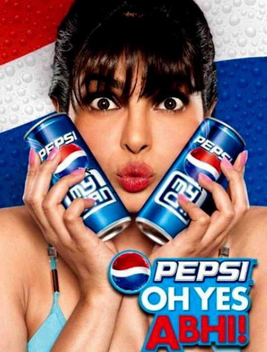 Priyanka Chopra in Pepsi ad