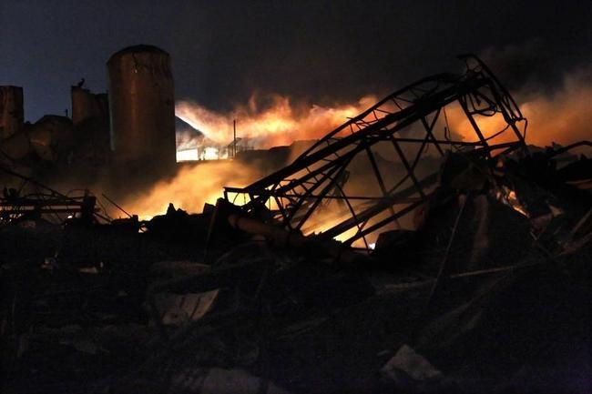 West Texas Fertilizer Plant Explosion: PICS