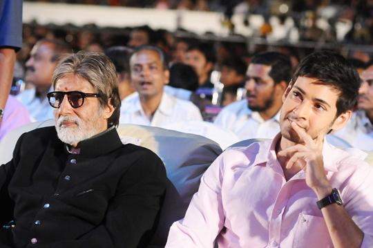 Amitabh Bachchan and Mahesh Babu