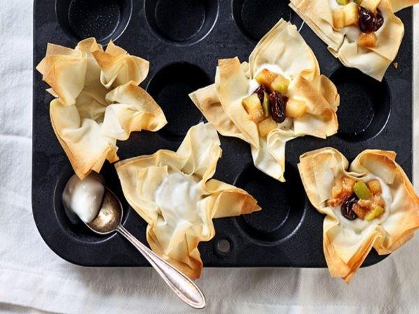 IPL Party Snack # 7: Mushroom Tarts