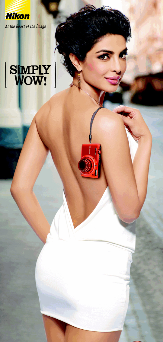 Priyanka Chopra in her latest Nikon ad