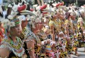 Colourful Dayak Festival