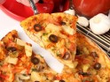 IPL Party Snack # 4: Healthy Stuffed Pizza