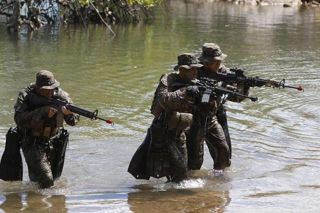 Amphibious Military Exercises
