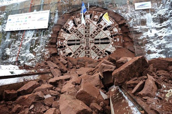 French Tunnel Boring Machine