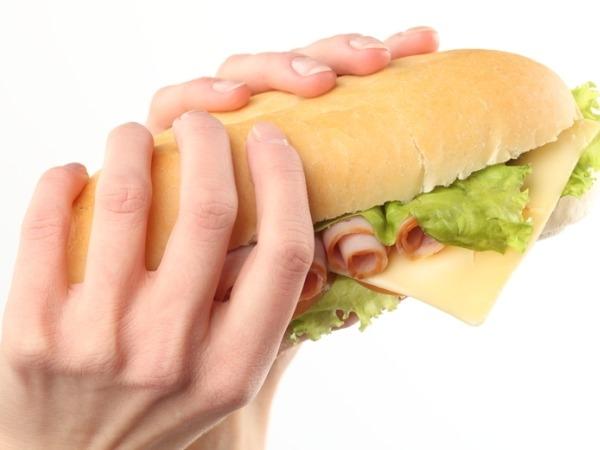 consuming junk food