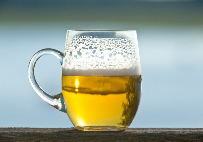 Beer prevents kidney stone. A bottle of beer can reduce the risk by 40%.