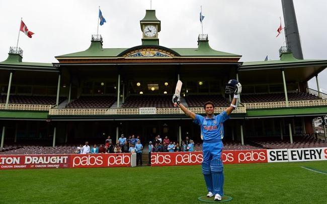 Sachin Tendulkar Waxed in Australia