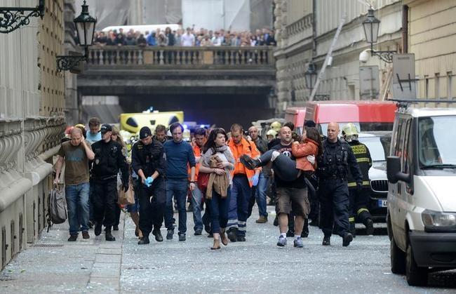 Prague Blasts