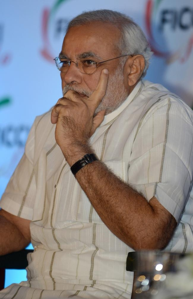 Narendra Modi at FICCI
