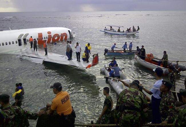 Lion Air plane crashes into sea