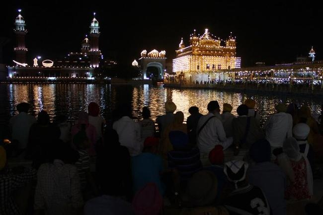 Serene Golden Temple