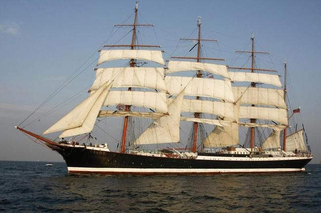 Russian Windjammer, the Sedov