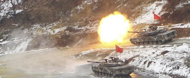 South Korean Army Tanks