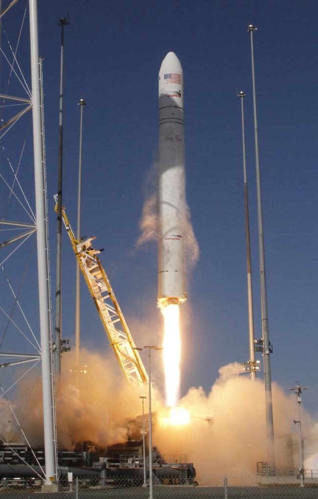 Antares Rocket Takes Off