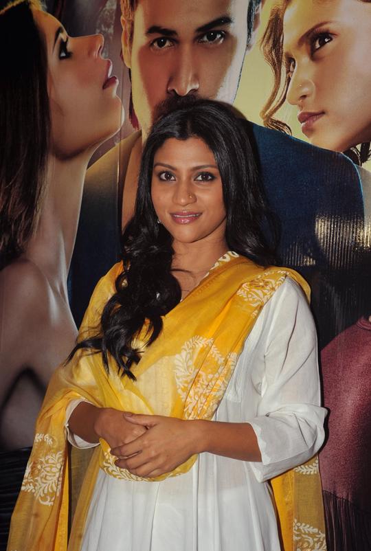 Konkona Sen Sharma during the launch presentation of Ek Thi Daayan, in Mumbai, on 3rd April.