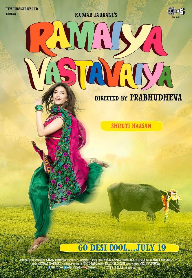 Ramaiya Vastavaiya Poster  Courtesy: Tips Films
