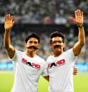Farhan Akhtar and Shaan