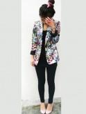 Bold floral jacket