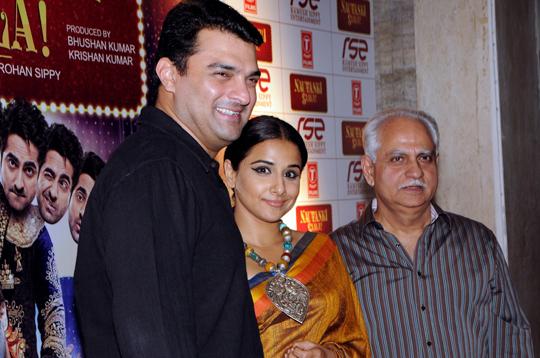 Siddharth Roy Kapur, Vidya Balan, Ramesh Sippy