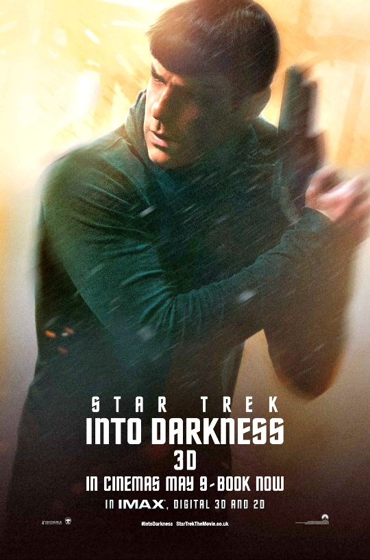Zachary Quinto as Commander Spock