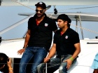 Suresh Raina and Shikhar Dhawan Go Sailing