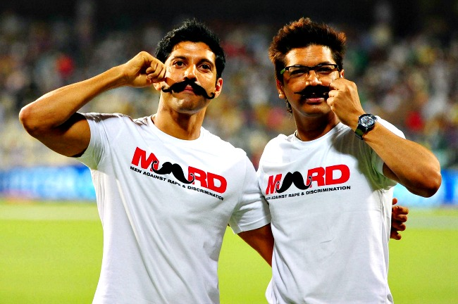 Farhan Akhtar and Shaan