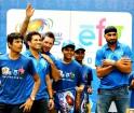 Ricky Ponting, Sachin Tendulkar and Harbhajan Singh