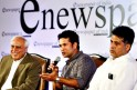 Manish Tewari, Kapil Sibal, and Sachin Tendulkar