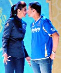Shilpa Shetty and Rahul Dravid