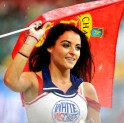 Cheerleader at IPL