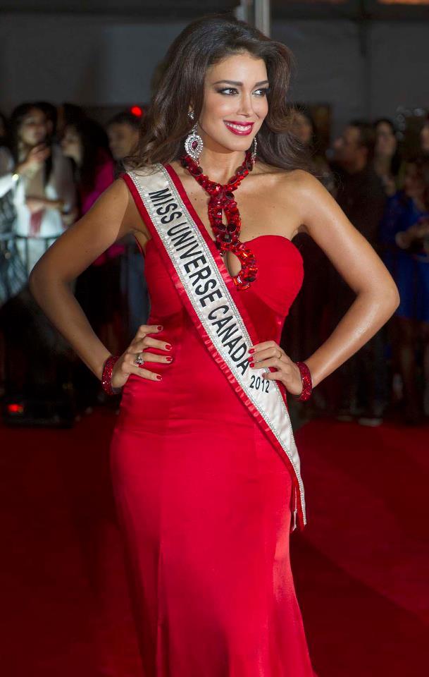 Miss Universe Canada 2012 Sahar Biniaz