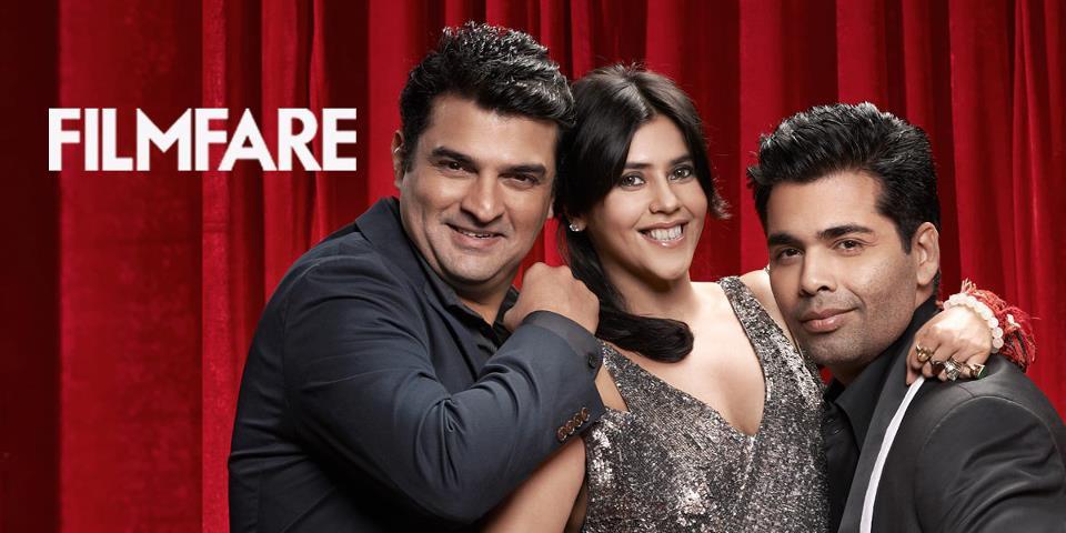 KJo-Karan-Ekta, Filmfare