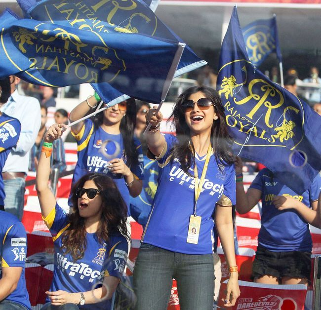 She can surely put an IPL cheerleader to shame.Image credit: AFP