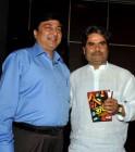 Novelist Ved Prakash and filmmaker Vishal Bhardwaj