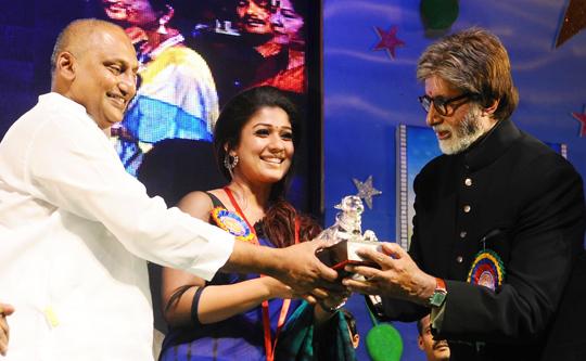 Nayantara, Amitabh Bachchan