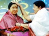 Asha Bhosle, Lata Mangeshkar